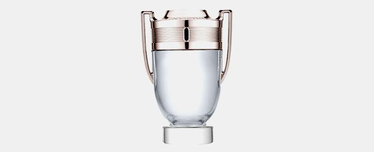 Perfumes com Frascos Bonitos   Invictus Masculino – Paco Rabanne   Sieno Perfumaria
