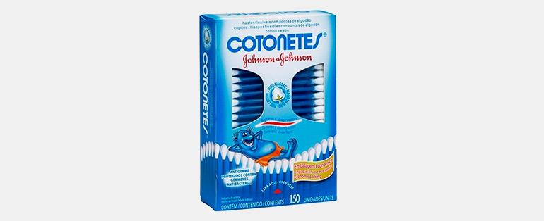 Produtos de Higiene Pessoal   Hastes Flexíveis Cotonetes 150 Unidades - Johnson & Johnson   Blog Sieno
