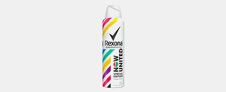 Produtos de Higiene Pessoal   Desodorante Aerosol Unissex Now United - Rexona   Blog Sieno