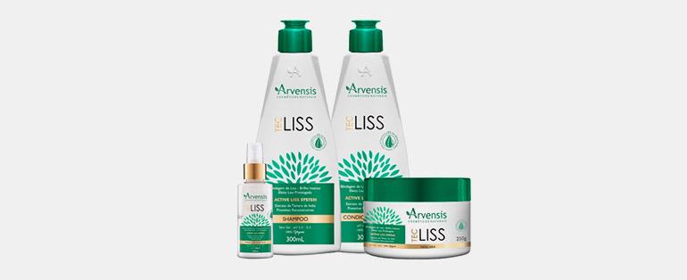 Produtos veganos - Kit Arvensis Tec Shampoo + Condicionador + Máscara + Spray Control - Sieno Perfumaria