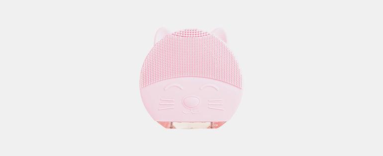 Océane Cat Cleaner Rosa - Limpador Facial Bivolt - Comprar cosméticos - Sieno Perfumaria