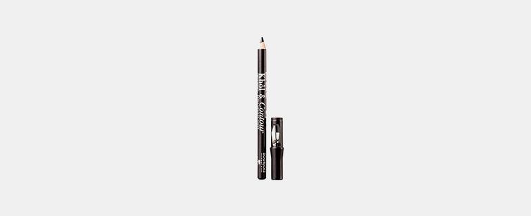 Olho esfumado - Bourjois Lápis para Olhos Khôl & Contour 01 Black Sharpener   Blog Sieno