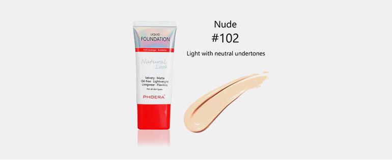 Dicas de como fixar maquiagem no calor - Phoera Liquid Foundation - Base Líquida Aveludada | Blog Sieno