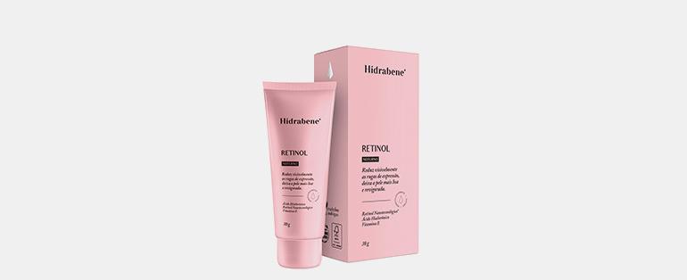 Rotina de cuidados com a pele | Hidrabene Retinol Com Ácido Hialurônico Tratamento Para Rugas Noturno | Blog Sieno