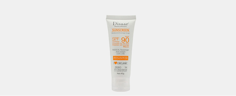 Cuidados com a pele no inverno   Protetor Solar Facial Orgânico Oil Free 90 Max Disaar   Blog Sieno