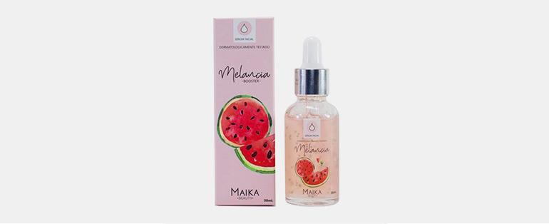 Cuidados com a pele no inverno   Serum Hidratante Facial Melancia Maíka Beauty   Blog Sieno